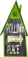 Green House Polling Place - Transparent